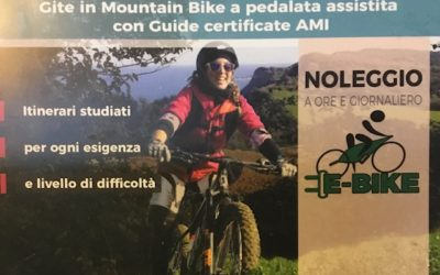 E-bike con pedalata assistita